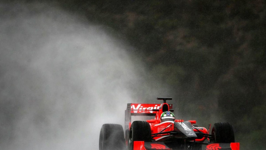 Virgin gets laps on the board at drying Jerez