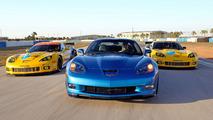 2010 Corvette ZR1 and Corvette C6.R ALMS Race Cars 08.03.2010