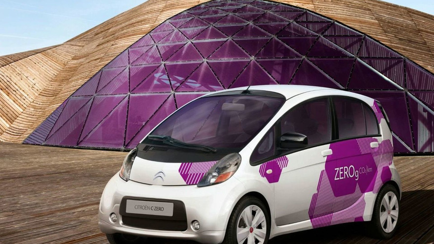Citroen C-ZERO Electric Vehicle Revealed - based on Mitsubishi i-MiEV