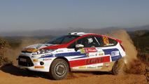 Ford Fiesta R2 rally kit (US) 04.11.2010