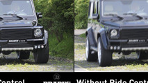 BRABUS Ride Control Suspension for Mercedes G-Class