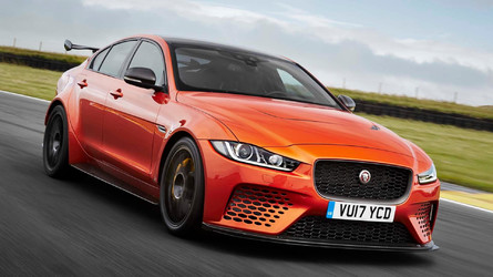 Jaguar XE SV Project 8 Is Here With Wings, Vents, And 592 HP