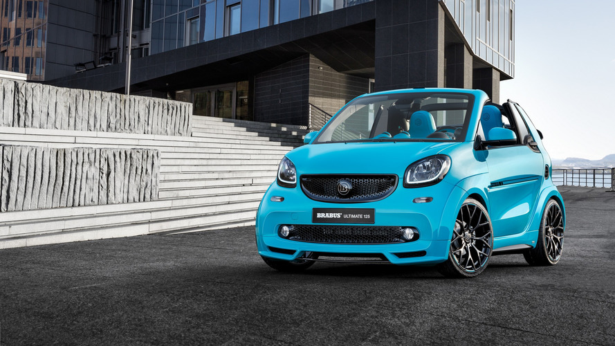 Brabus gives Smart ForTwo Cabrio a shot of testosterone for Geneva