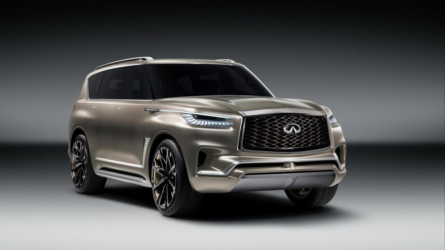 Infiniti Previews Monolithic QX80 Monograph Ahead Of New York