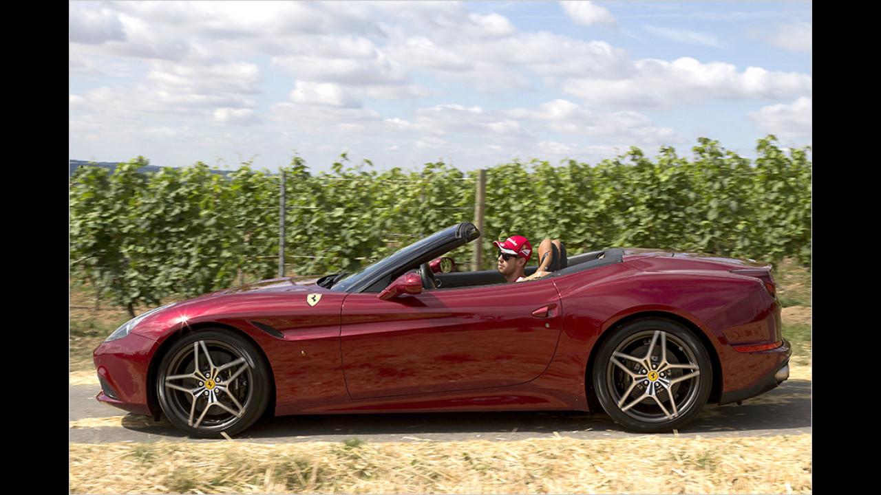 Sebastian Vettel: Ferrari California T
