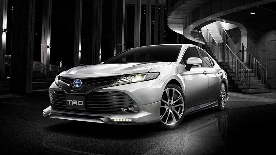 Toyota Unveils Camry TRD, Modellista Editions For Japanese Market