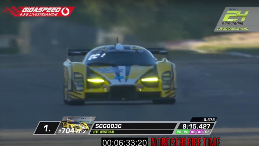 Watch The SCG 003C's Incredible 6:33 'Ring Lap