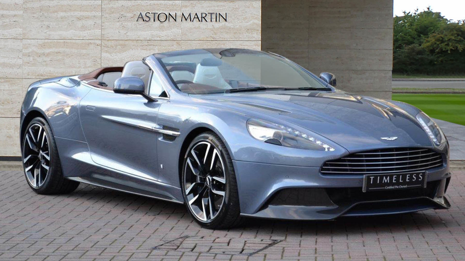 one off aston martin vanquish volante could be yours for 295k. Black Bedroom Furniture Sets. Home Design Ideas