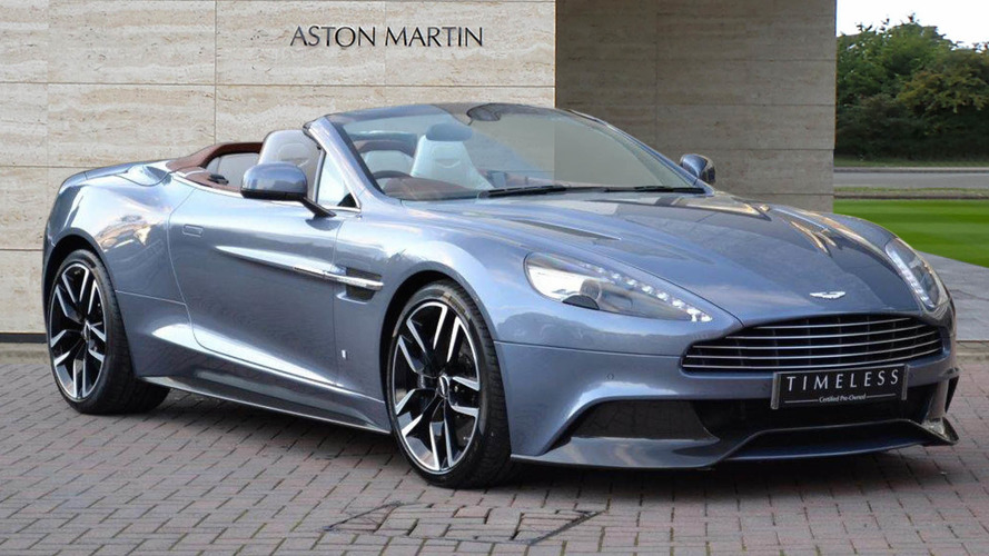 Türünün tek örneği Aston Martin Vanquish Volante satışta