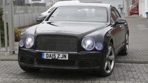 2016 Bentley Mulsanne facelift spy photo