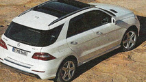 2012 Mercedes-Benz M-Class leaked scans, 1100, 07.06.2011