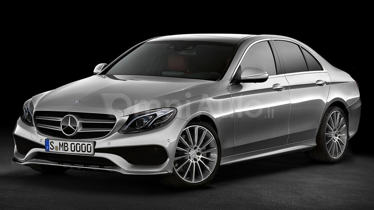 2016 Mercedes-Benz E-Class Sedan render
