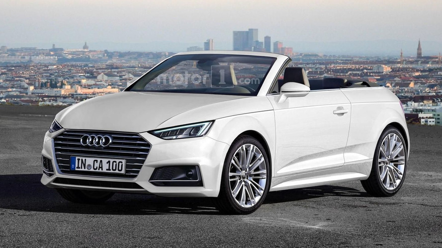 Audi A1 Cabriolet render unlikely to become reality