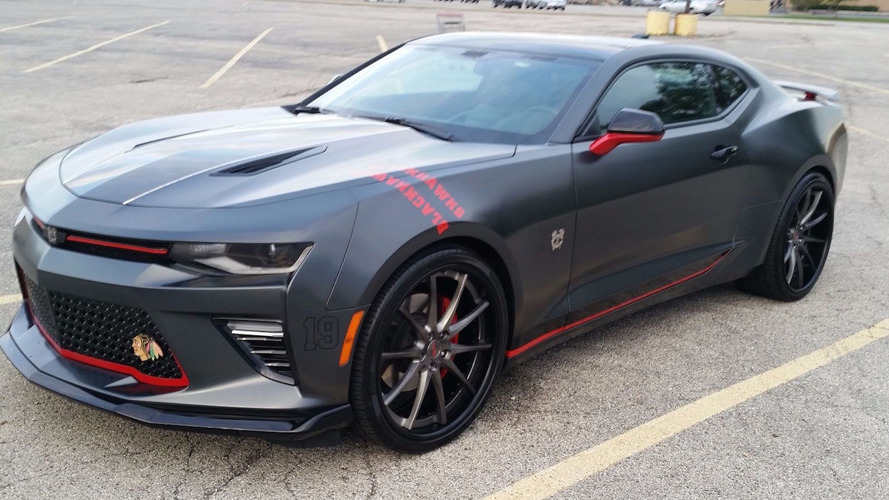 Chicago Blackhawks Camaro eBay find is just one of six
