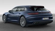 Porsche Panamera Sport Turismo 2018 rendu