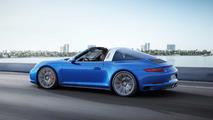Porsche 911 Targa 4S 2017 azul