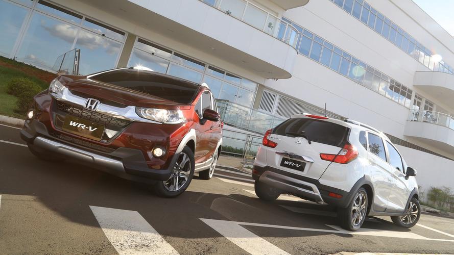 SUVs/crossovers mais vendidos - Honda WR-V já encosta no Renegade; Captur patina