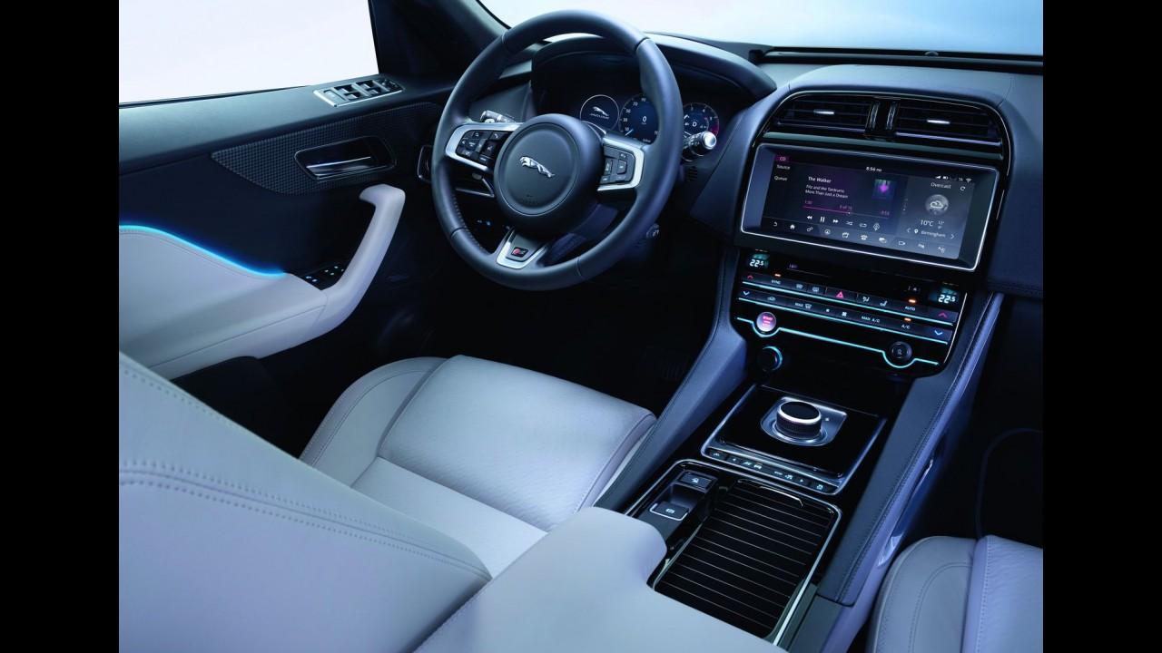 Jaguar F-Pace vai custar R$ 300 mil e já pode ser configurado no Brasil