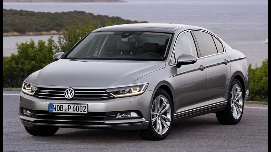 Veja a lista dos carros mais vendidos na Europa; VW Passat é destaque