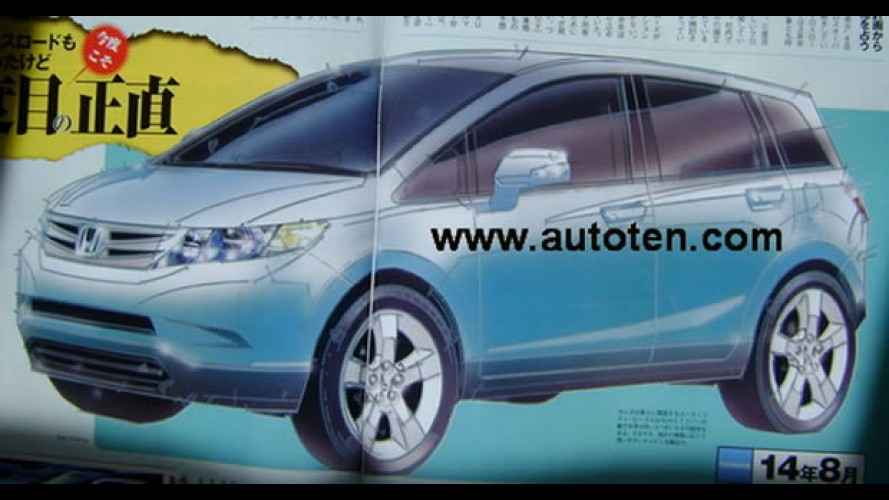 Honda planeja crossover menor que o CR-V - Modelo pode chegar em 2013