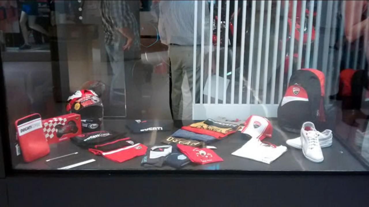 Ducati abre loja dentro de shopping em São Paulo
