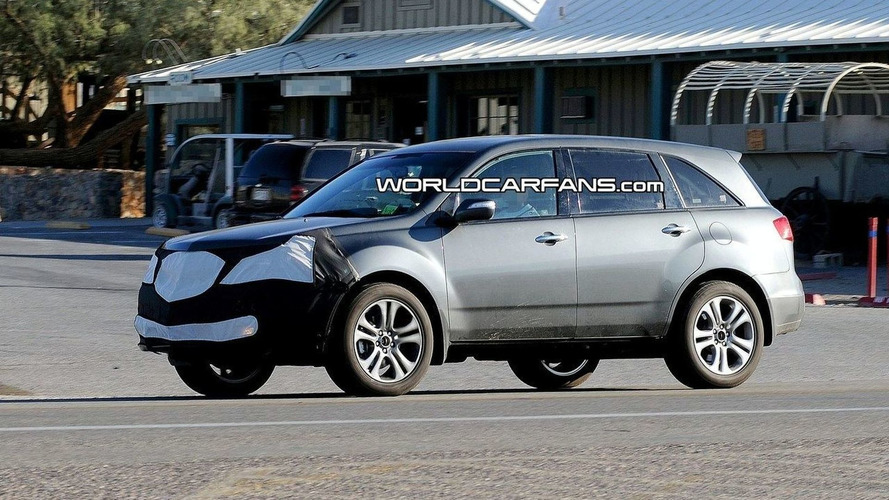 Acura MDX Facelift Spied