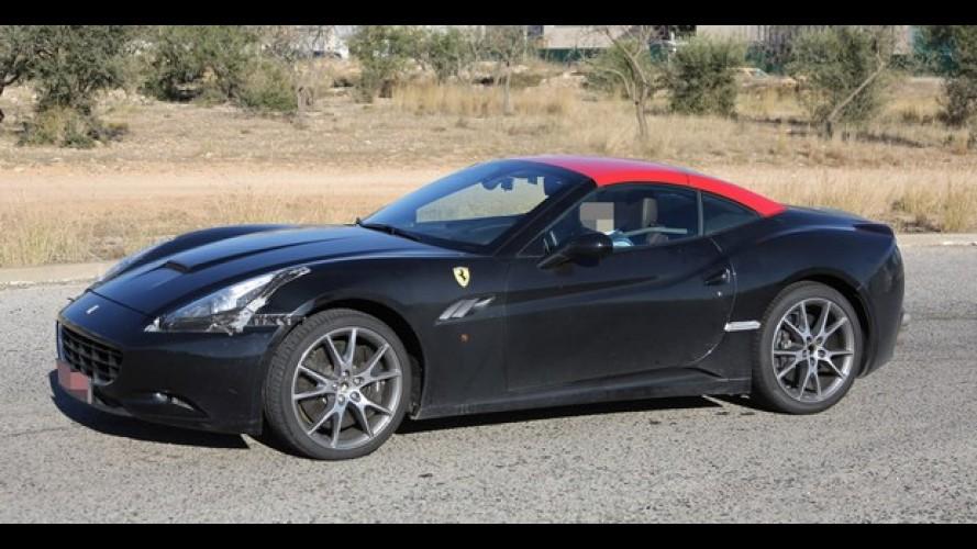 Ferrari Califórnia: nova geração será revelada no próximo dia 12