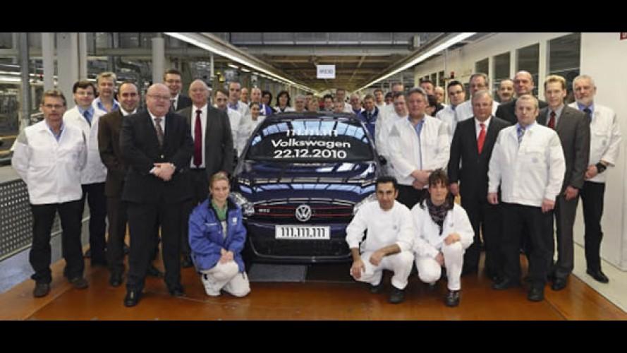 Volkswagen produz veículo de número 111.111.111