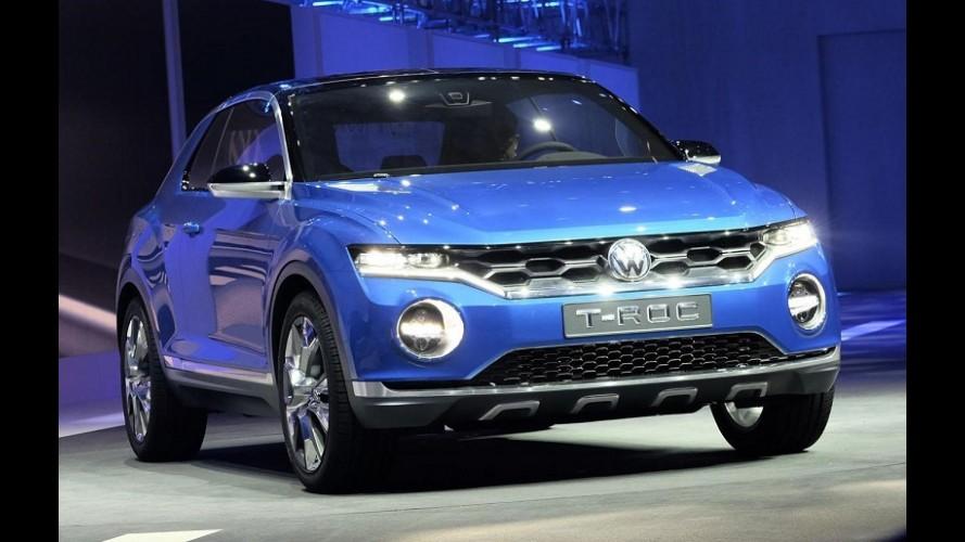 VW T-Roc Concept antecipa SUV derivado do Polo para brigar com Juke