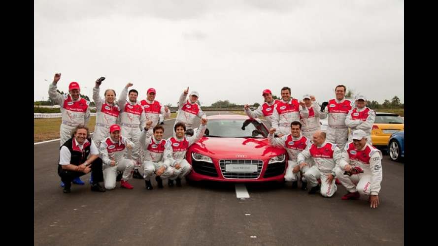 Dia dos Pais: Curso de pilotagem com superesportivo Audi R8 ou TTS é sugestão