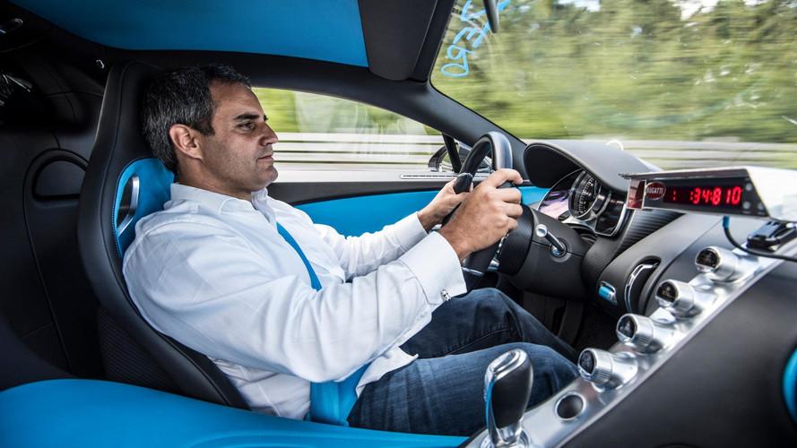 Juan Pablo Montoyával a volán mögött döntött rekordot a Bugatti Chiron