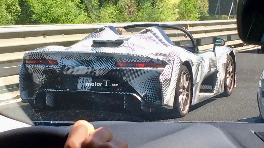 Dallara Stradale Caught Testing Without A Roof