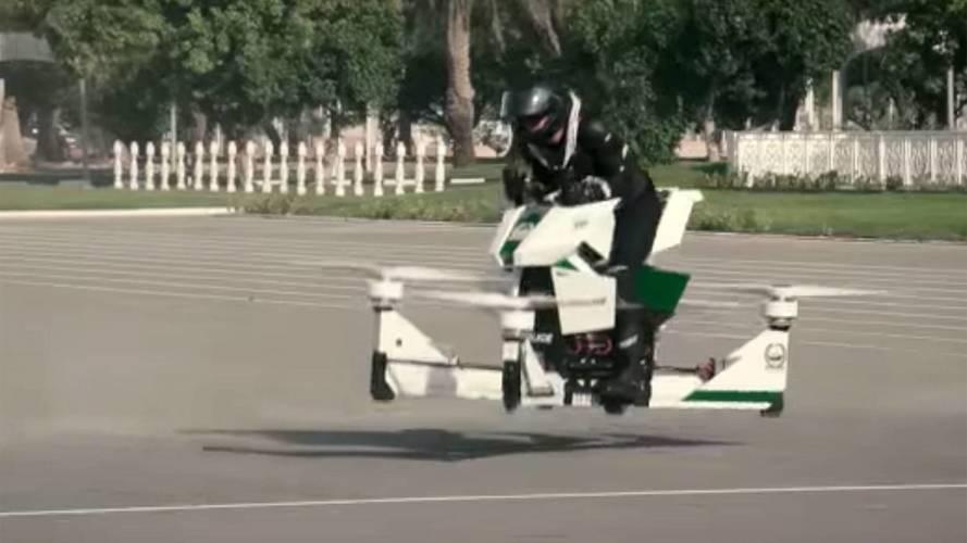 Dubai Police Put Cops On Wild Hoverbikes