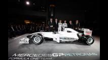 Mercedes GP presenta la livrea 2010