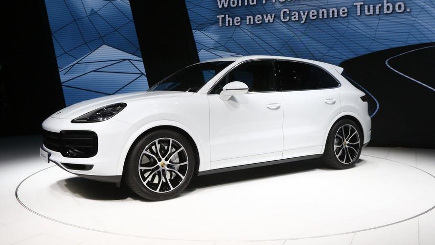 2018 Porsche Cayenne Turbo Official Images Motor1 Com Photos