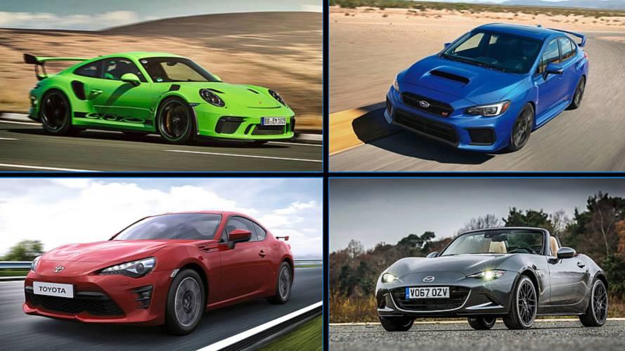 5 coches perfectos en carreteras con curvas