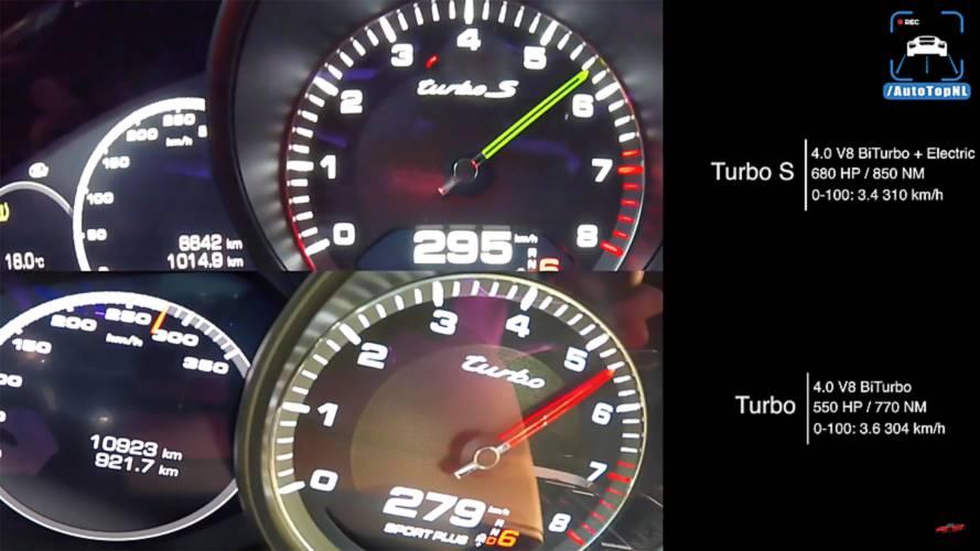 Porsche Panamera Turbo vs. Turbo S E-Hybrid: gasolina contra PHEV