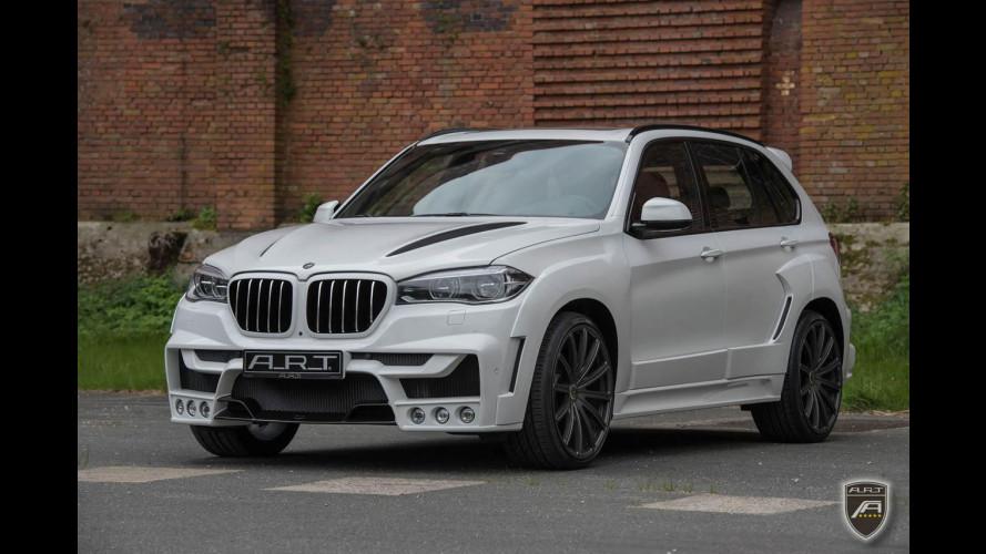 BMW X5, steroidi per la tedesca