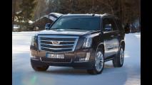 Nuova Cadillac Escalade, versione Europa