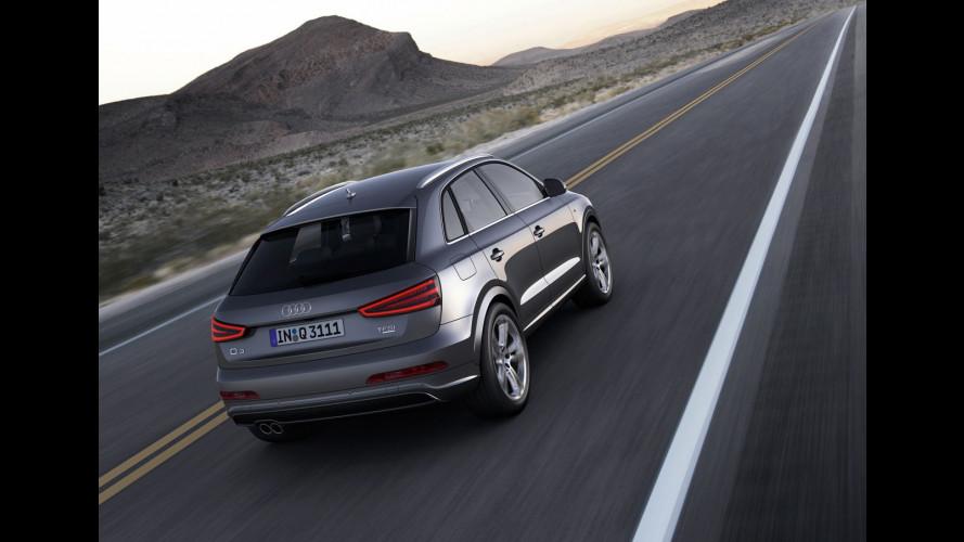 Audi Q3 e Range Rover Evoque sfidano la BMW X1