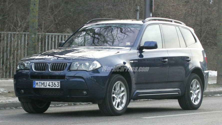 New BMW X3 Facelift Uncovered