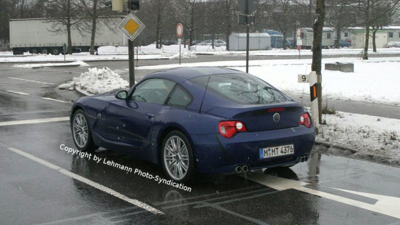 BMW Z4 M Coupe Spy Photos
