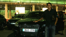Edmílson and his new Audi Q7