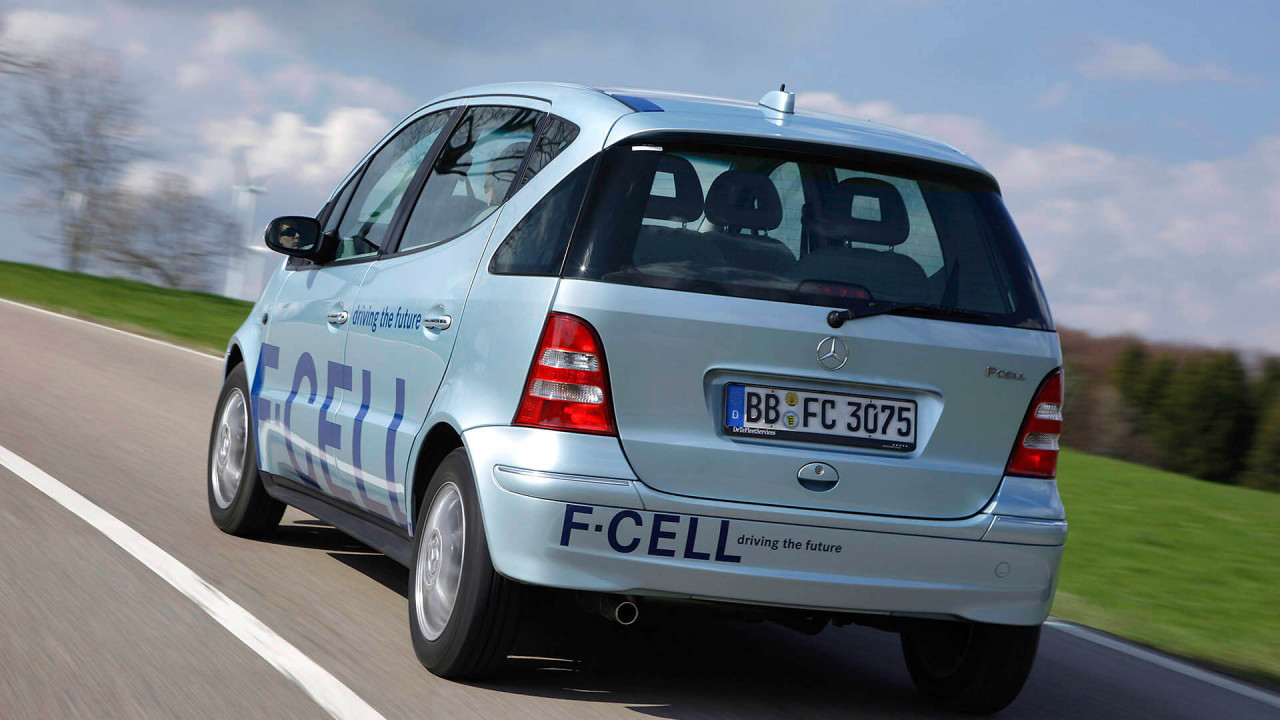 Mercedes A-Klasse: Wasserstoff-Abgesang