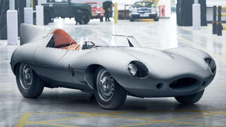 Jaguar D-Type, torna un mito ed è nuovo di fabbrica