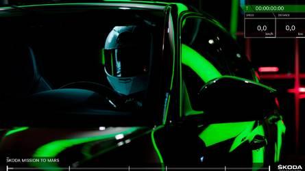 Škoda part à la conquête de Mars et devance Tesla
