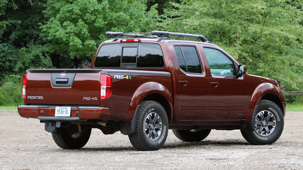 Review: 2016 Nissan Frontier Pro-4X