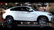 Salão do Automóvel 2008 - BMW mostra o novo X6 com tração inteligente xDrive