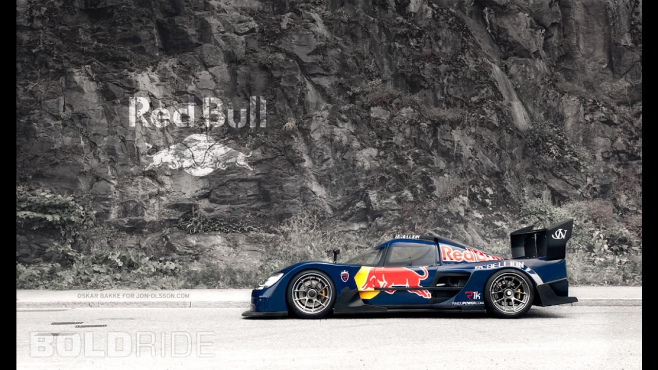 Rebellion R1k Red Bull Edition