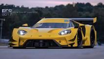 Ford GT DTM Rendering